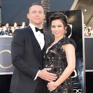 Channing Tatum, Jenna Dewan, Oscars 2013