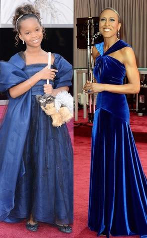 Quvenzhané Wallis, Robin Roberts, Oscars 2013