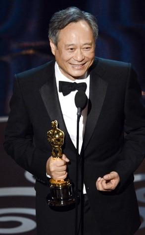 2013 Oscars Show, Ang Lee