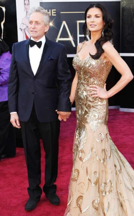 Catherine Zeta-Jones, Michael Douglas, Oscar 2013