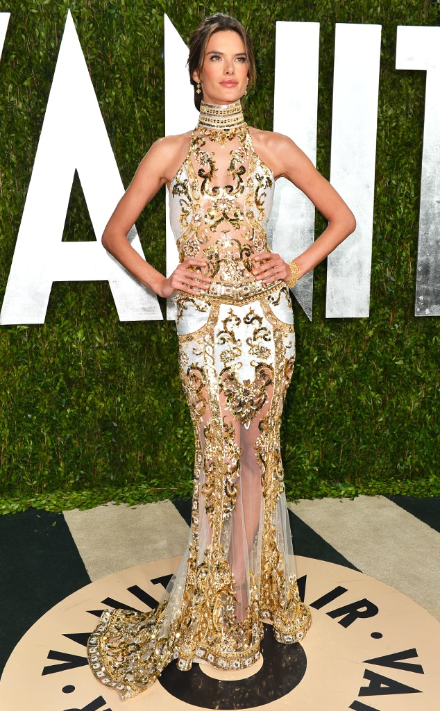 Alessandra Ambrosio, Vanity Fair, Oscars 13