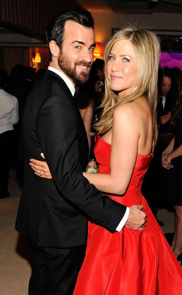 Justin Theroux, Jennifer Anistson, Vanity Fair, Oscars 13