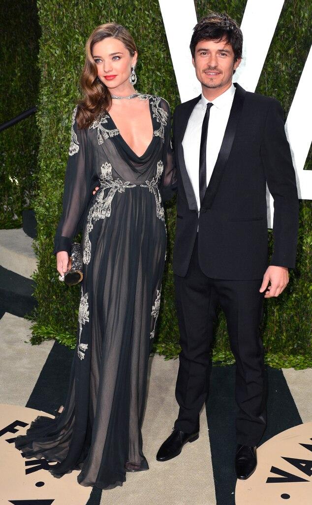 Orlando Bloom, Miranda Kerr, Vanity Fair, Oscars 13