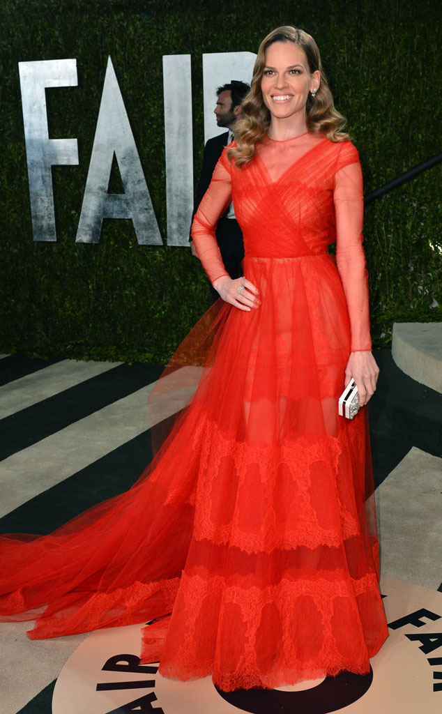 Hilary Swank, 2013 Vanity Fair Oscar Party