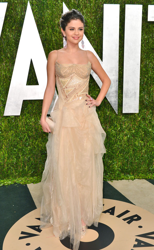 Selena Gomez, 2013 Vanity Fair Oscar Party