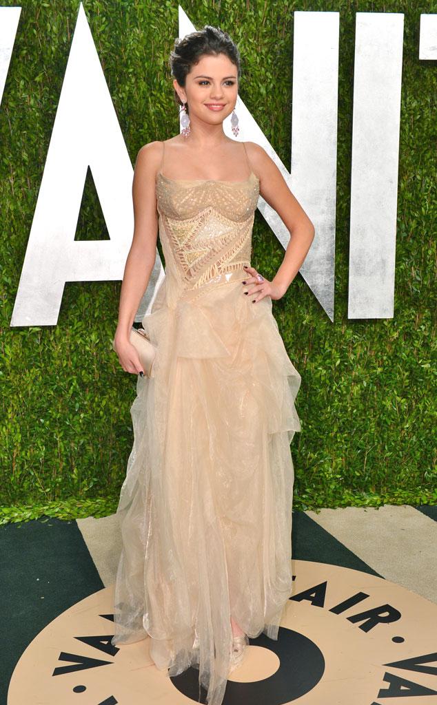 Selena Gomez, 2013 Vanity Fair Oscar Party