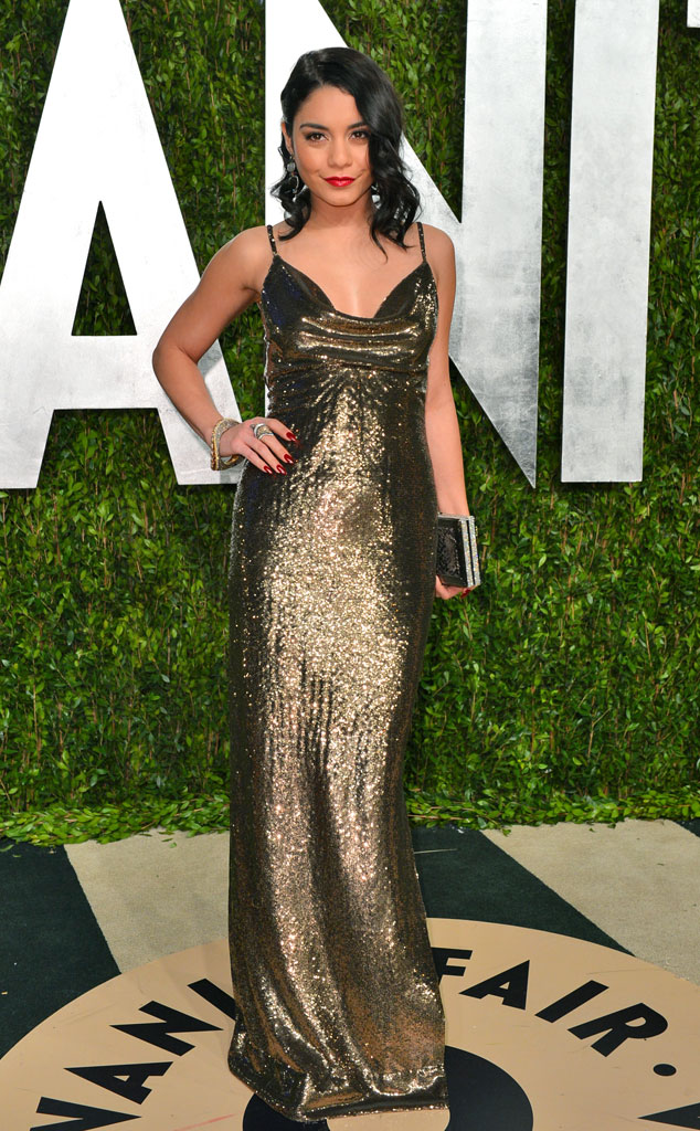 Vanessa Hudgens, 2013 Vanity Fair Oscar Party