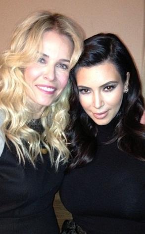 Kim Kardashian, Chelsea Handler, Instagram