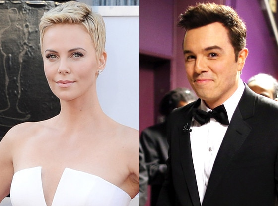 Seth MacFarlane and Charlize Theron Were Very Chatty ...