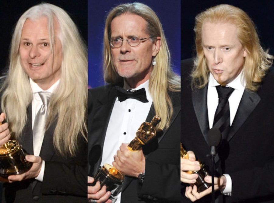 2013 Oscars Show, Paul N. J. Ottosson, Per Hallberg, Claudio Miranda
