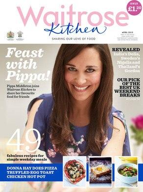 Pippa Middleton, Waitrose Kitchen Magazine