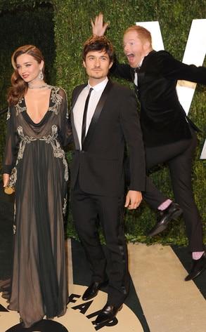 Miranda Kerr, Orlando Bloom, Jesse Tyler Ferguson