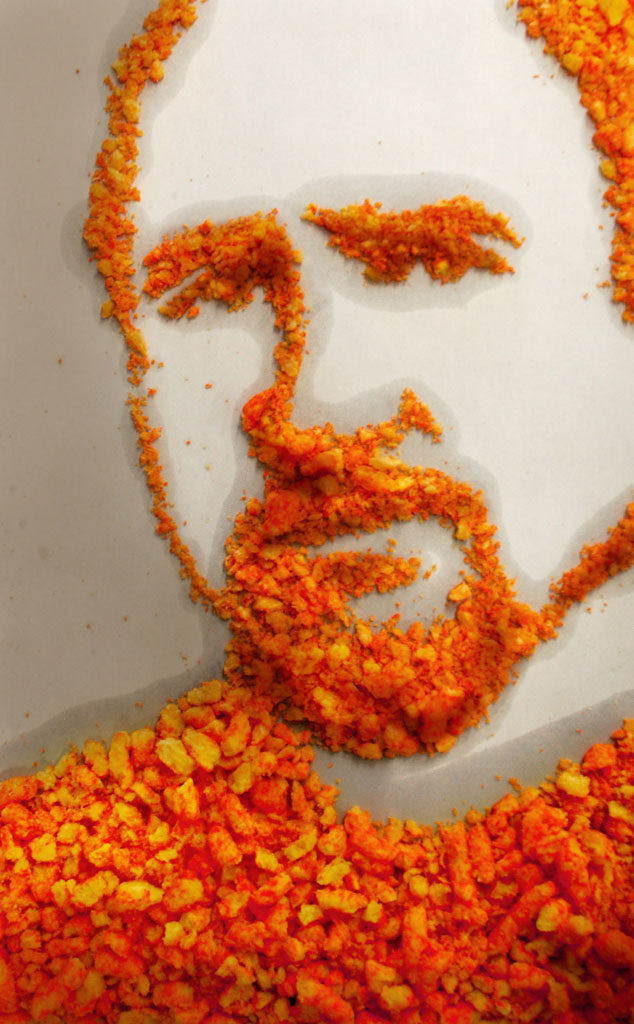 Louis C.K., Cheetos Art