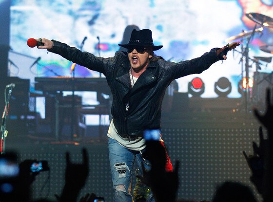 Axl Rose, Guns N' Roses, Las Vegas
