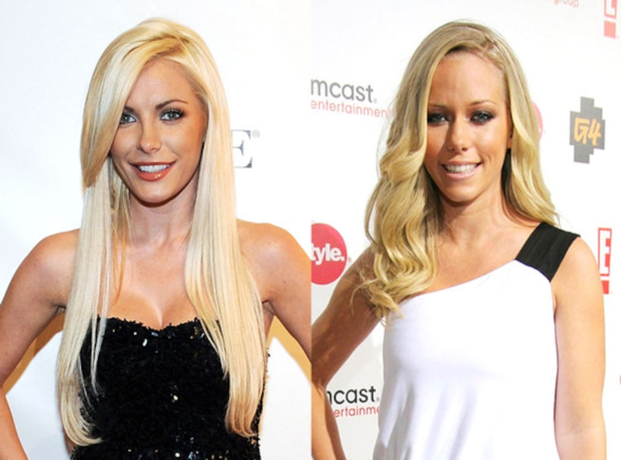 Kendra Wilkinson, Crystal Harris