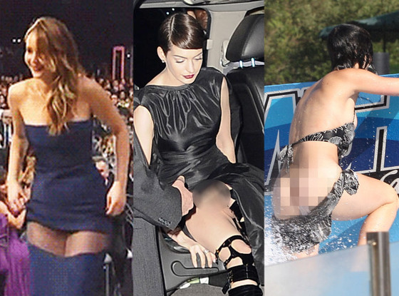 Jennifer Lawrence, Katy Perry, Anne Hathaway