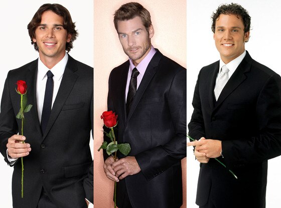 Bob Guiney, Brad Womack, Ben Flajnik, The Bachelor