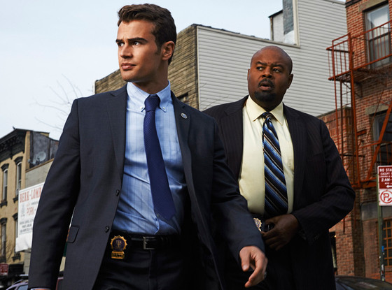 Theo James, Chi McBride, Goldenboy