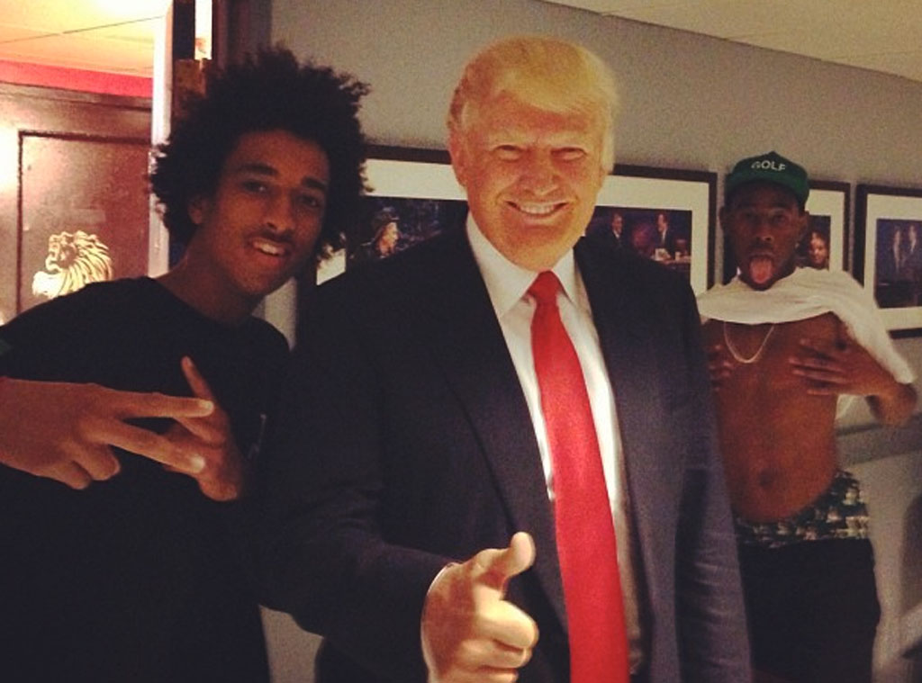Donald Trump, Photobomb, Instagram