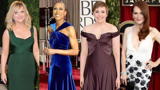 Lena Dunham, Robin Roberts, Amy Poehler, Julianne Moore