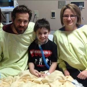 Ryan Reynolds, Children Hospital, Facebook pic
