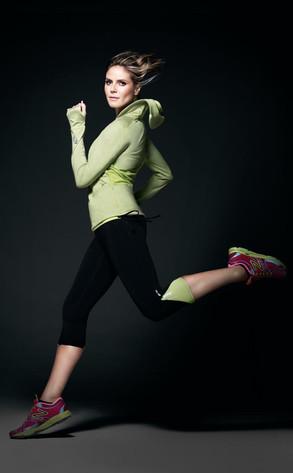 Heidi Klum, New Balance