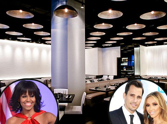 Michelle Obama, Barack Obama, Bill Rancic, Giuliana Rancic