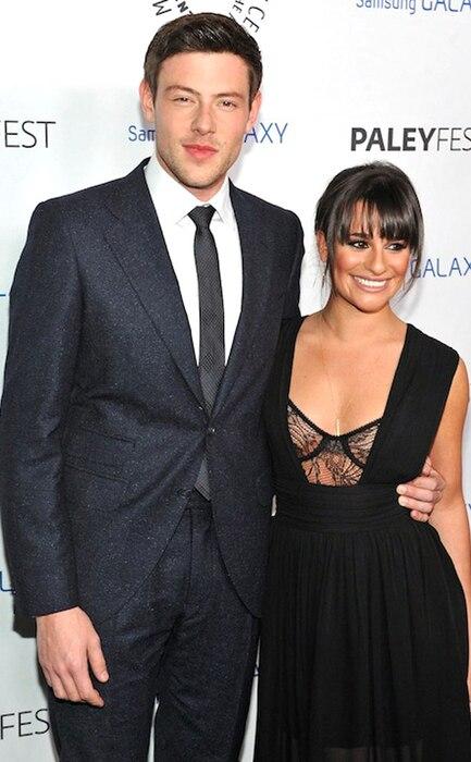 Cory Monteith, Lea Michele