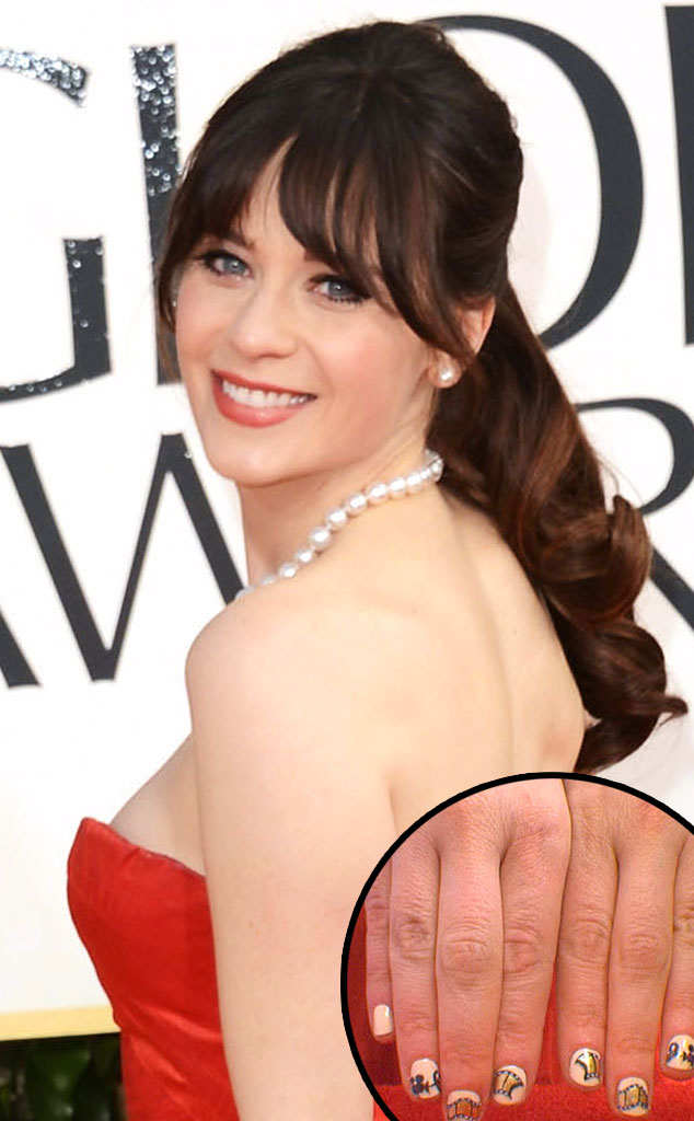 Zooey Deschanel, Golden Globes