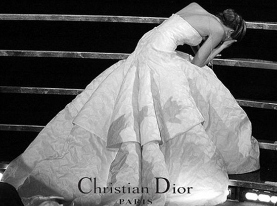 Fake Christian Dior Ad, Jennifer Lawrence