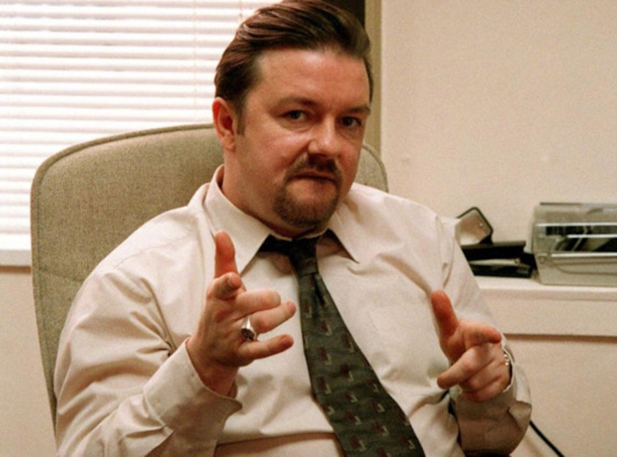 Ricky Gervais, The Office