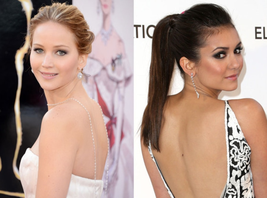 Jennifer Lawrence, Nina Dobrev, Trending and Fading