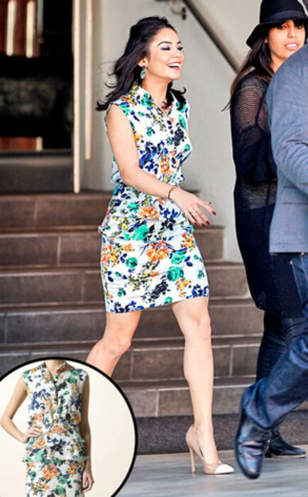 Vanessa Hudgens, Corondo dress