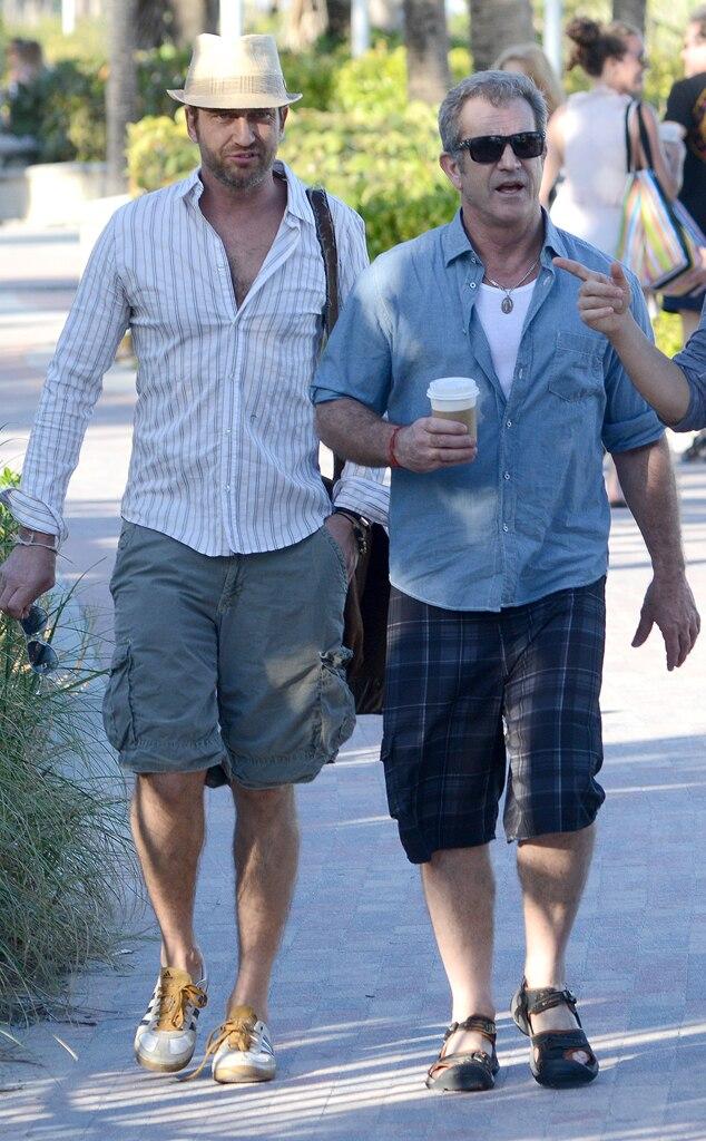 Gerard Butler, Mel Gibson
