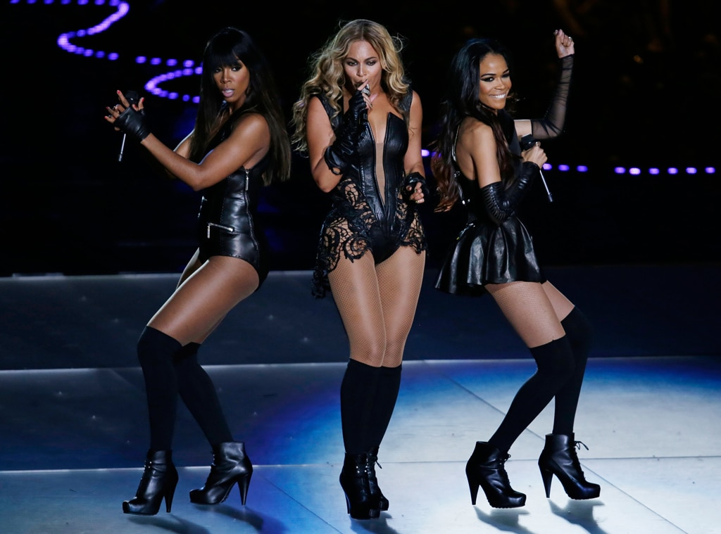 Beyonce,Kelly Rowland, Michelle Williams, Destinys Child, Superbowl