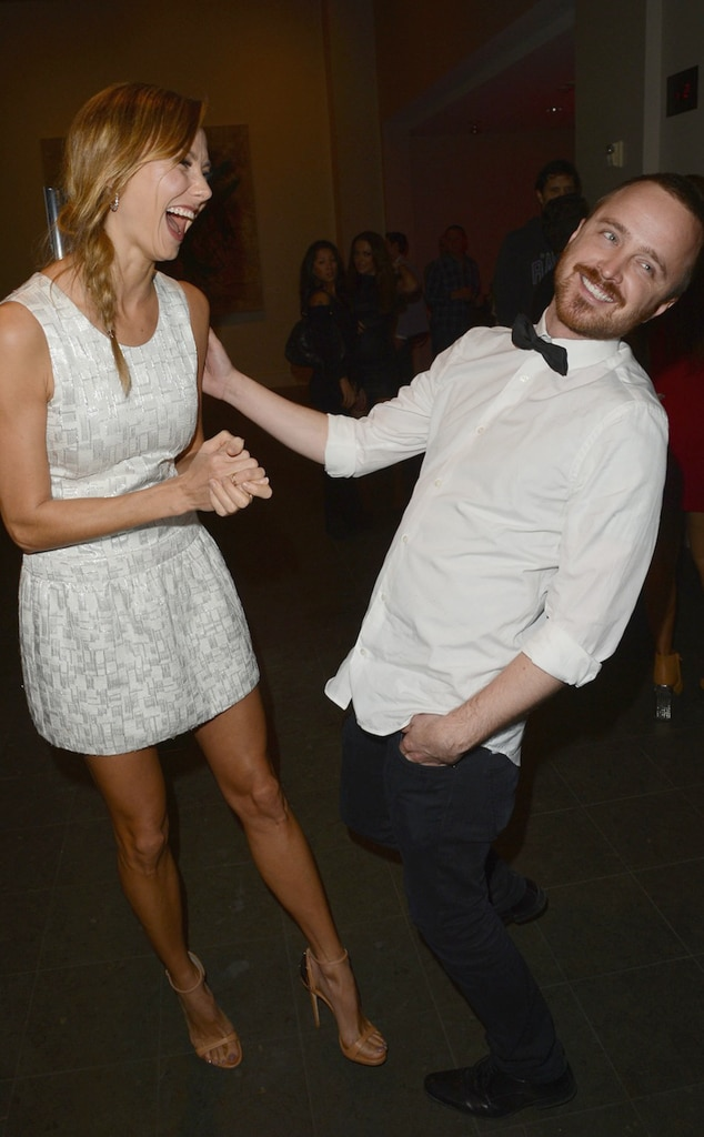 Stacy Keibler, Aaron Paul