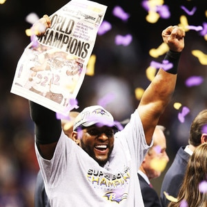 Ray Lewis, Baltimore Ravens, Super Bowl