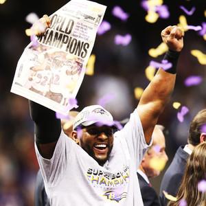 Ray Lewis, Baltimore Ravens, Super Bowl
