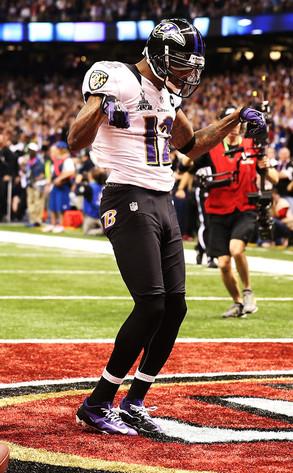 Jacoby Jones, Baltimore Ravens, Superbowl