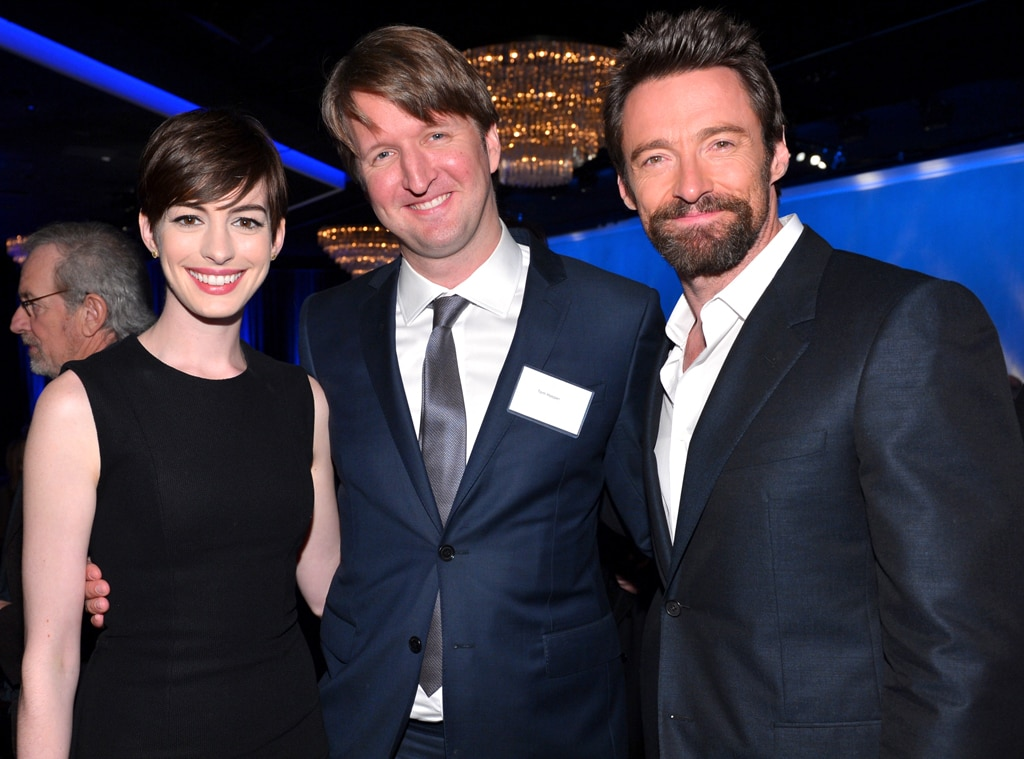 Anne Hathaway, Tom Hooper, Hugh Jackman