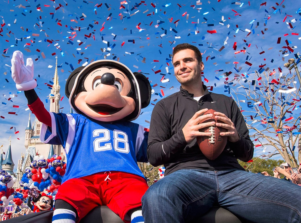 Joe Flacco, Mickey Mouse