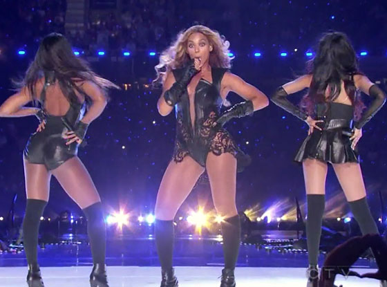 Beyonce Super Bowl Half Time Show