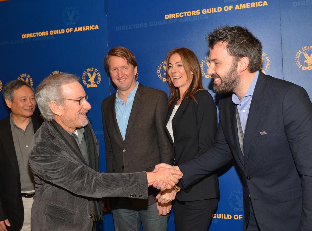 Ang Lee, Steven Spielberg, Tom Hooper, Kathryn Bigelow, Ben Affleck, Taylor Hackford