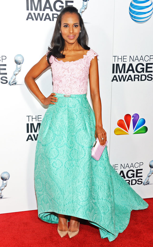 Kerry Washington, Oscar de la Renta