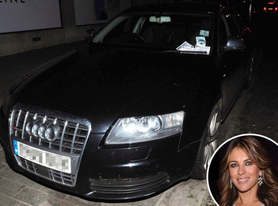 Elizabeth Hurley, Liz Hurly, Stolen Car