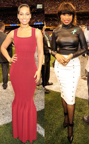 Alicia Keys, Jennifer Hudson