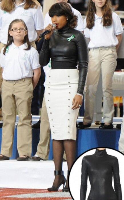 Jennifer Hudson, Leather Bodysuit