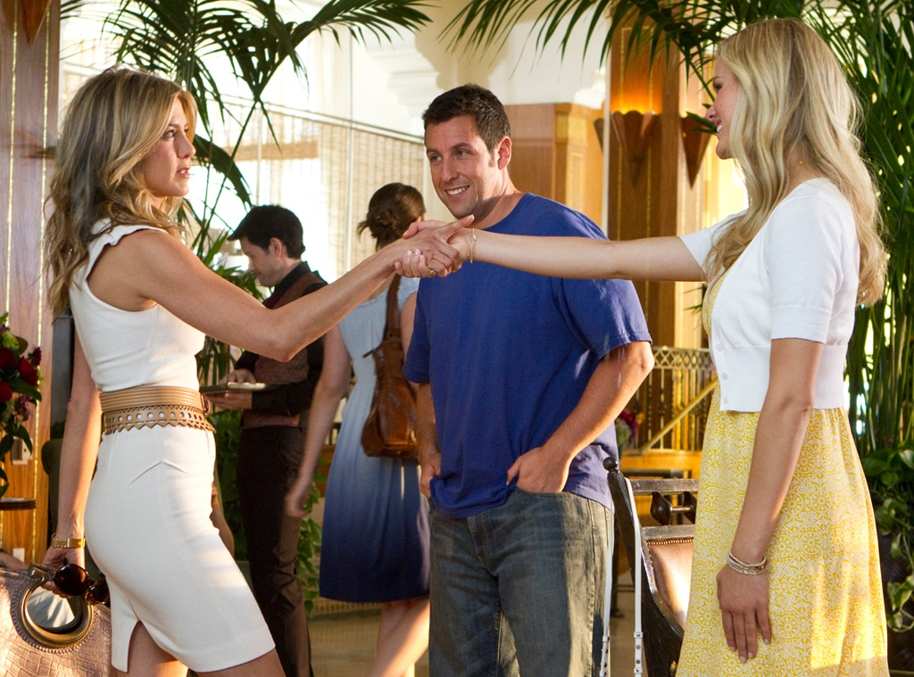 Just Go With It, Adam Sandler, Jennifer Aniston, Brooklyn Decker