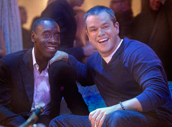 Matt Damon, Don Cheadle