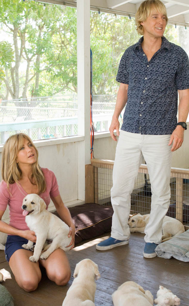 Owen Wilson, Jennifer Aniston, Marley and Me